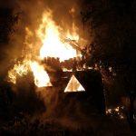 Požar lesenega vikenda na Brdih 2019/5