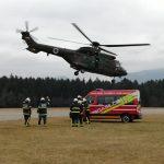 Zavarovanje pristanka in vzleta helikopterja 2020/4