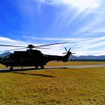 Zavarovanje pristanka in vzleta helikopterja 2020/6